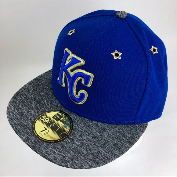 902e6bfec KC Royals Hat ALLSTAR New Era 59Fifty Fitted 7 3/8 NWT